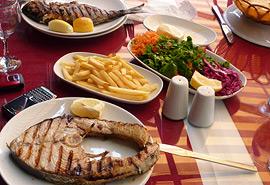 Local Turkish Seafood