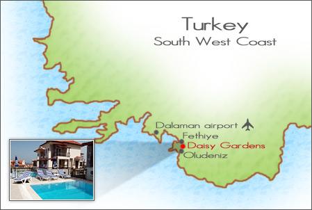 Daisy Gardens Holiday Villa in Turkey